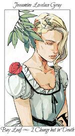 Virágos kártya Jessamine2