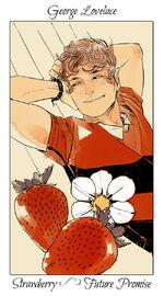 Virágos kártya George