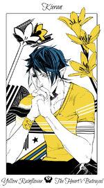 Virágos kártya Kieran