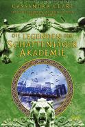 Copertina Le cronache dell'Accademia Shadowhunters Germania