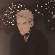 Virágos kártya Edmund