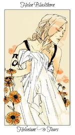 Virágos kártya Helen
