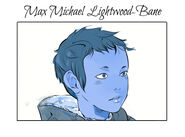 Virágos kártya Max Lightwood-Bane