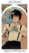 Virágos kártya James