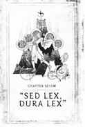 Sed lex, dura lex Codice Shadowhunter