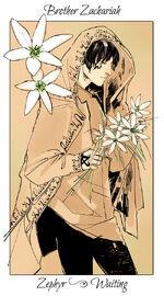 Virágos kártya Zakariás