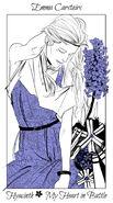 Virágos kártya Emma