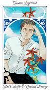 Virágos kártya Thomas
