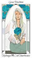 Virágos kártya Grace