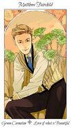 Virágos kártya Matthew