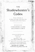 Anteprima Codice Shadowhunter