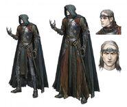 Die Schwarze Hand Saurons Concept Art