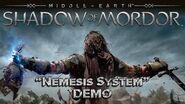 "EXCLUSIVE SHADOW OF MORDOR ""NEMESIS SYSTEM"" LIVE DEMO"