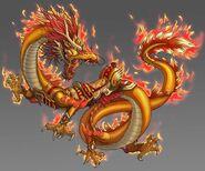 Golden Dragon on Fire (Internet)