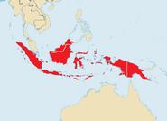 Indonesian Drug Syndicates (customized map from ShadowHelix)