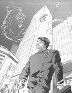 Masaru, human form (Shadowrun Sourcebook, Dragons of the Sixth World)