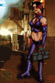 Laesa from Shadowrun Sourcebook, 10 Gangs.png
