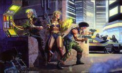 Shadowrunner Scene (Shadowrun 1st Edition Core Rulebook).jpg