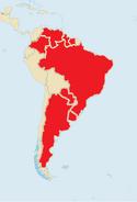 Cachoeira Cartel, Map (customized map from ShadowHelix)
