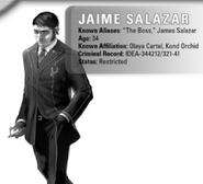 Jaime Salazar, Olaya Cartel from Shadowrun Sourcebook, Ghost Cartels