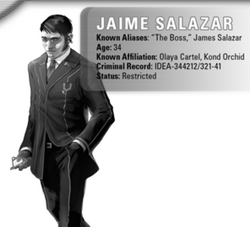 Jaime Salazar, Olaya Cartel from Shadowrun Sourcebook, Ghost Cartels.png