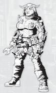 Zarah, Red Dragons from Shadowrun Sourcebook, Boardroom Backstabs - Battle of Manhattan