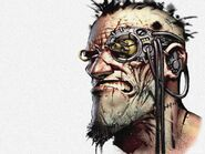 Angry Man with Cyberware (Internet)