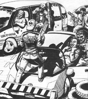 Raubritter gang (Shadowrun Sourcebook, Germany).png