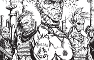 Biker Gangs, Quebec from Shadowrun Sourcebook, Montreal 2074