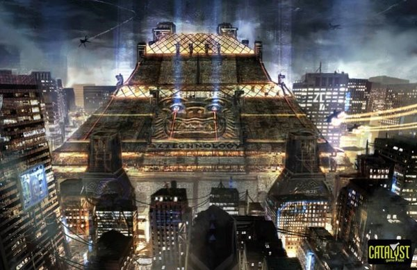 Aztechnology Pyramid