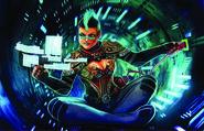 Aztlan Decker (Shadowrun Crossfire Card)