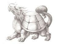 Dragon Turtle (aka, Black Turtle - Internet)