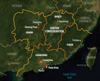 Canton Confederation, map from Shadowrun Sourcebook, Sixth World Almanac.png