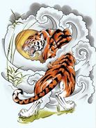 Tiger (drunkenflyer, deviantArt)
