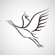 Flying Crane (Sayan Bunard, 123rf.com)