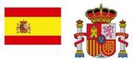 Spanische Flagge und Wappen.JPG