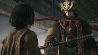 Genichiro Swearing Oath