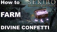 Sekiro Item Guide - How to Farm Divine Confetti