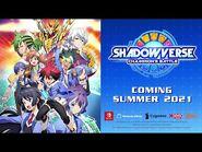 Shadowverse- Champion's Battle - Announcement Trailer
