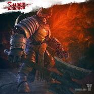Shadow warrior gozu boss character by levus3d-d8dcd7u