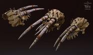 Levus-3d-claws-skull-lp-01