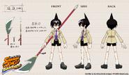 Modelo 3D Ren Funbari Chronicle
