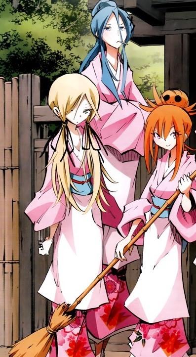 Hana-Gumi Waitresses