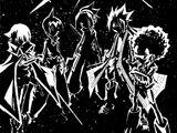 Five Elemental Warriors