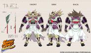 Modelo 3D Bason Funbari Chronicle