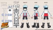 Modelo 3D Horo Horo Funbari Chronicle