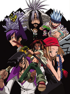 Shaman King 2001 Anime Key Visual