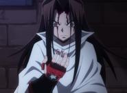 Hao herido por la maldición de Zenki y Kouki Anime 2021