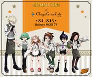 Chugai Grace Cafe x Shaman King