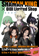 OIOI Limited Shop x Shaman King